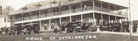 Deer Lake Inn, c. 1920 [historic slideshow]