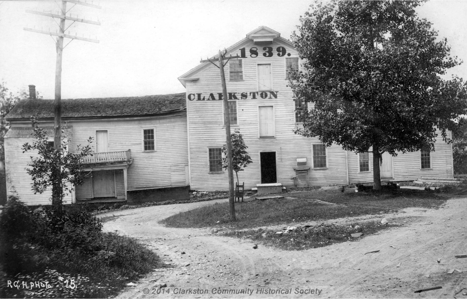 Clarkston Mills, c. 1886