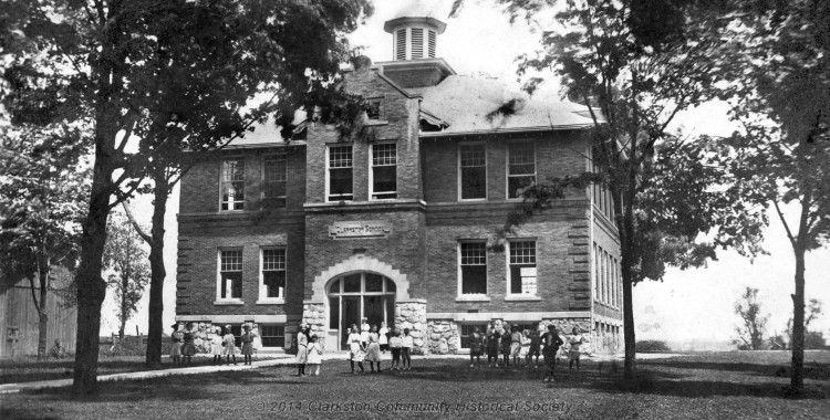 Clarkston Union School, c. 1915 [historic slideshow]