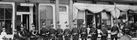 Coronet Band, c. 1890 [historic slideshow]