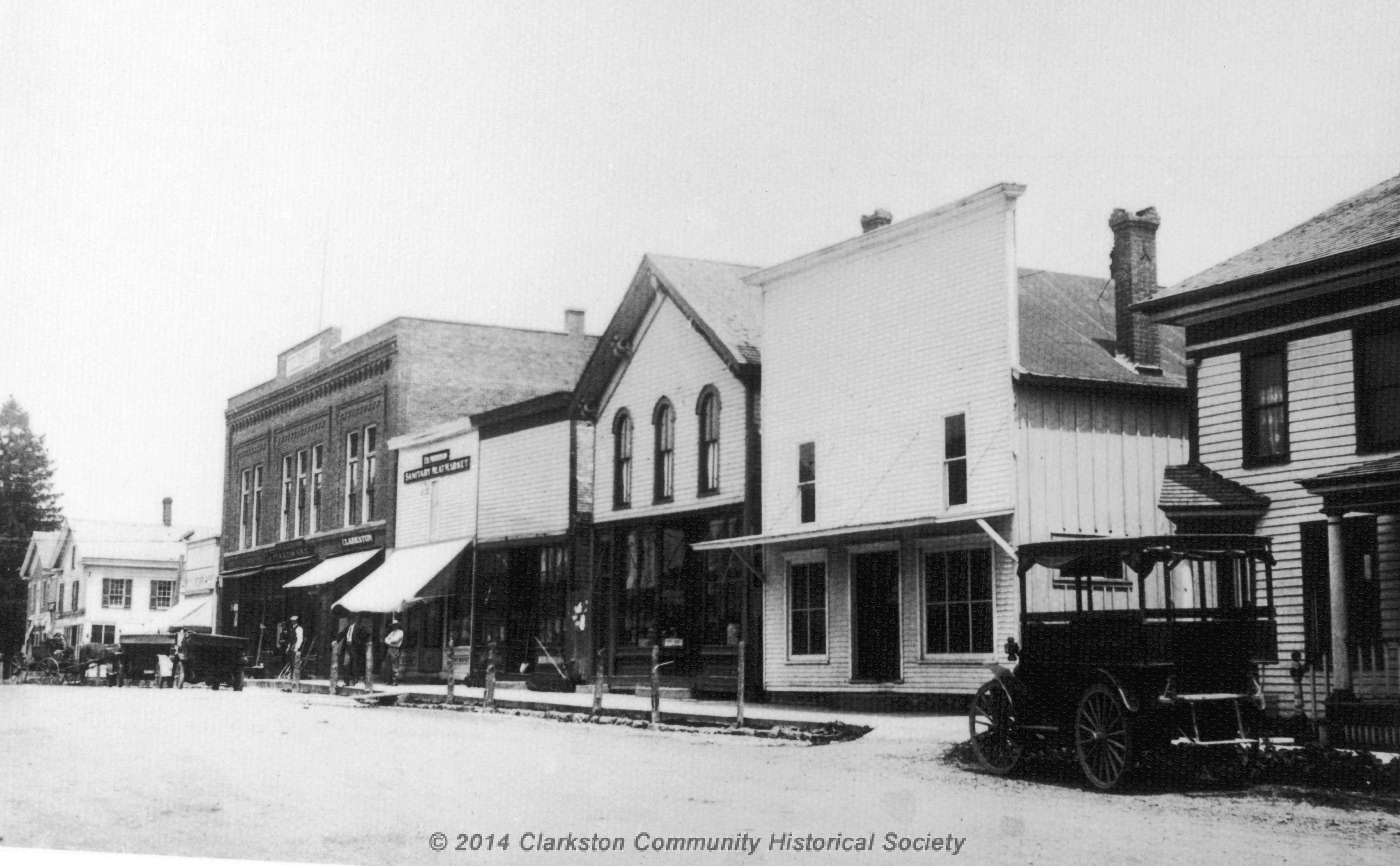 East Side of South Main Street, c. 1910