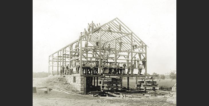 history-slides-barn-building