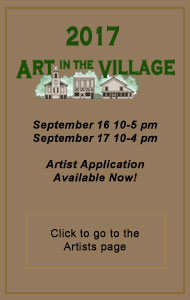Art in the Village 2017